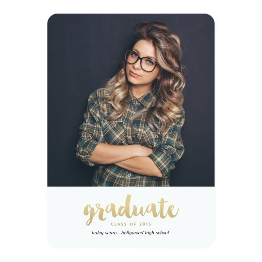 CLASS OF 2015 GRADUATION Graduation Announcement