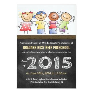 Class of 2015 Little Cartoon Children Preschool Card