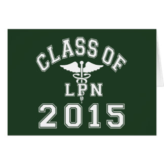 Class Of 2015 LPN Card