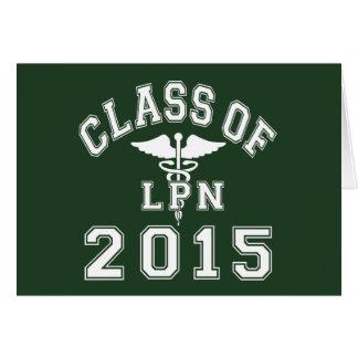 Class Of 2015 LPN Greeting Card