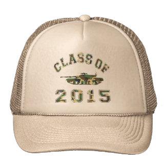Class Of 2015 Military School - Camo 2 Trucker Hat