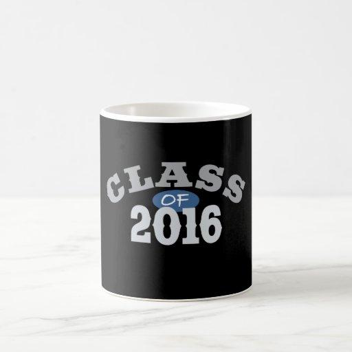 Class Of 2016 Blue Mugs