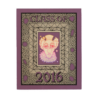 Class Of 2016 Faux Frame Wood Print