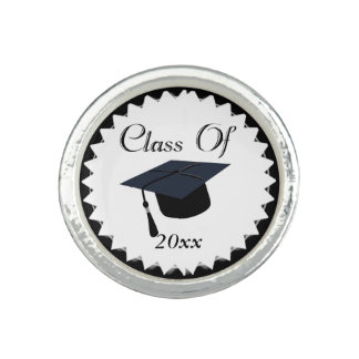 Class Of 2016 Graduation Cap Photo Rings