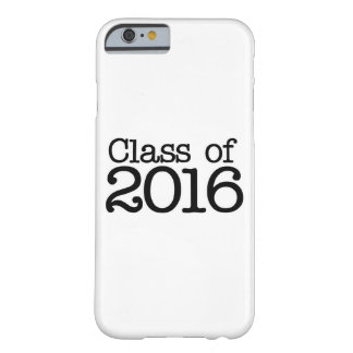 Class of 2016 graduation party barely there iPhone 6 case