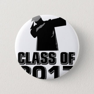 Class of 2017 2 inch round button