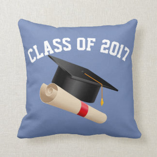 CLASS OF 2017 (ANY YEAR) THROW PILLOW
