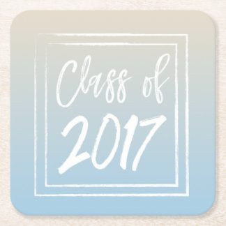 Class of 2017 Blue Coasters