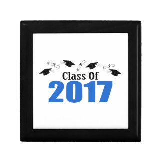 Class Of 2017 Caps And Diplomas (Blue) Gift Box