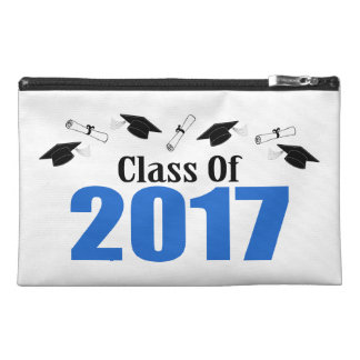 Class Of 2017 Caps And Diplomas (Blue) Travel Accessories Bags