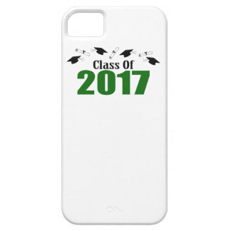 Class Of 2017 Caps And Diplomas (Green) iPhone 5 Cover