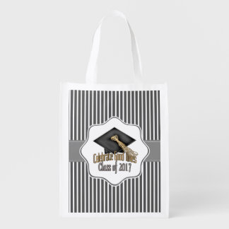 Class of 2017 Celebrate Good Times Graduation Gift Reusable Grocery Bag