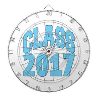 Class of 2017 dartboard