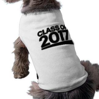 Class of 2017 dog tee shirt