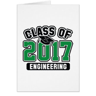 Class Of 2017 Engineering Card