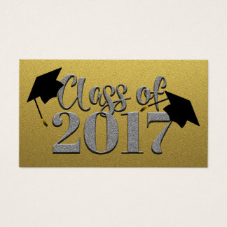 Class Of 2017 Gold And Silver Cards