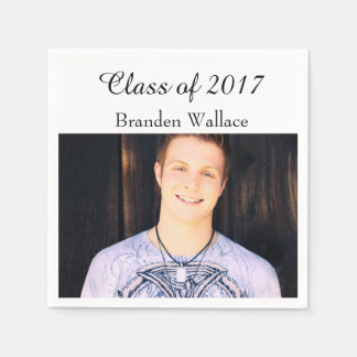 Class of 2017 Graduate Disposable Napkin
