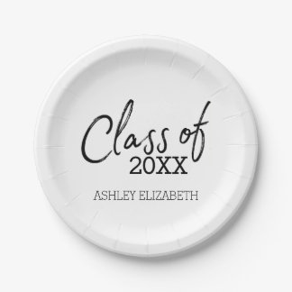 Class of 2017 Graduation Party 7 Inch Paper Plate