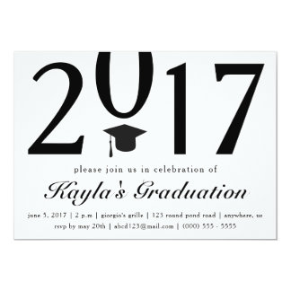 Class of 2017 Graduation Party Invitation
