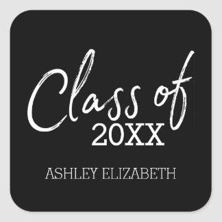 Class of 2017 Graduation Party Square Sticker