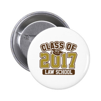 Class Of 2017 Law 2 Inch Round Button