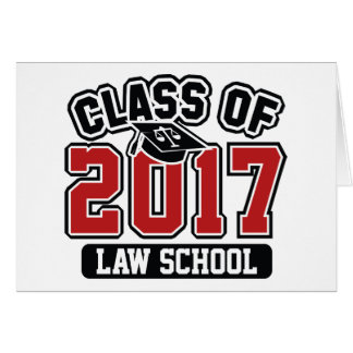 Class Of 2017 Law Card