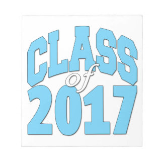 Class of 2017 notepad