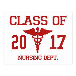 Class Of 2017 Nursing Dept Postcard
