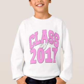 Class of 2017 Pink Sweatshirt
