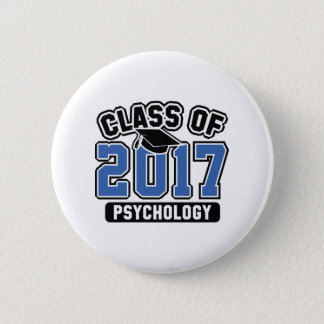 Class Of 2017 Psychology 2 Inch Round Button