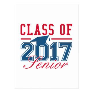 Class Of 2017 Senior Postcard