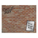 """Class of 2017 """"Write On My Wall"""" Signatures Poster"""