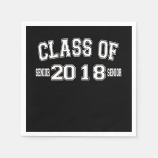 Class Of 2018 Cocktail Paper Napkins