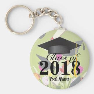 Class of 2018 Graduation Key-Chain Keychain