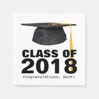 Class of 2018 Graduation Party Napkins Paper Napkins