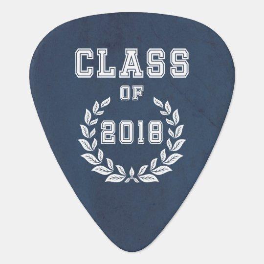Class of 2018 guitar pick