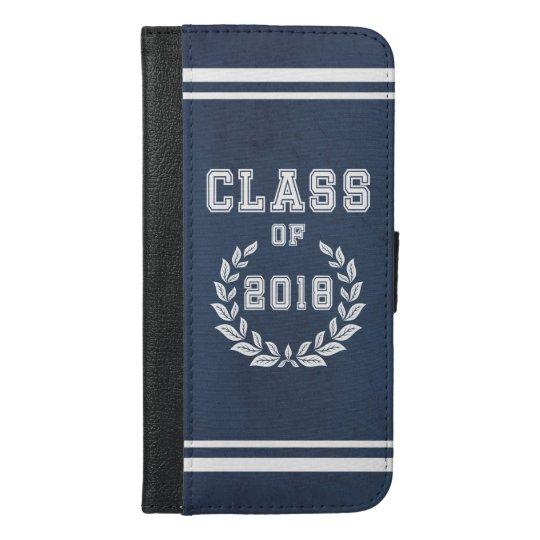 Class of 2018 iPhone 6/6s plus wallet case