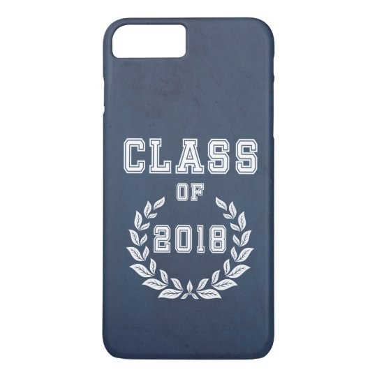 Class of 2018 iPhone 8 plus/7 plus case
