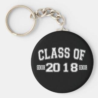 Class Of 2018 Keychain