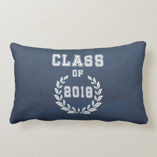 Class of 2018 lumbar pillow