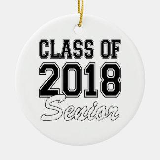 Class of 2018 Senior Ceramic Ornament