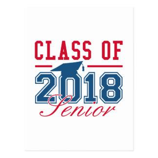 Class Of 2018 Senior Postcard