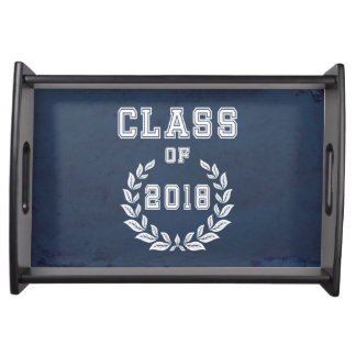 Class of 2018 serving tray