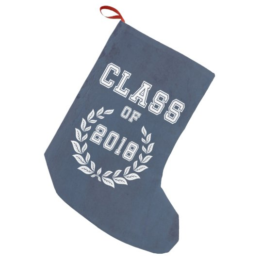 Class of 2018 small christmas stocking