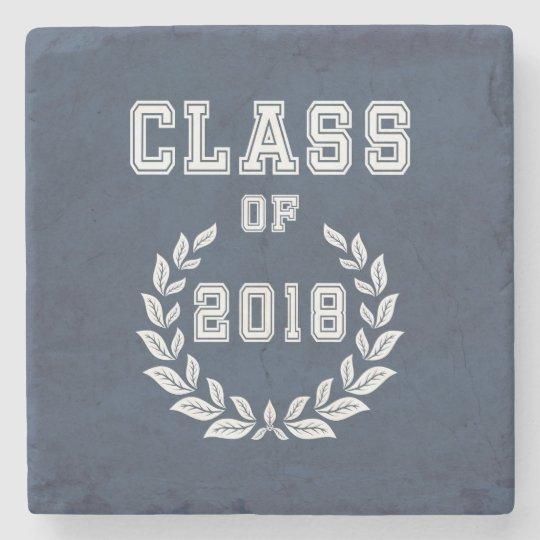 Class of 2018 stone coaster