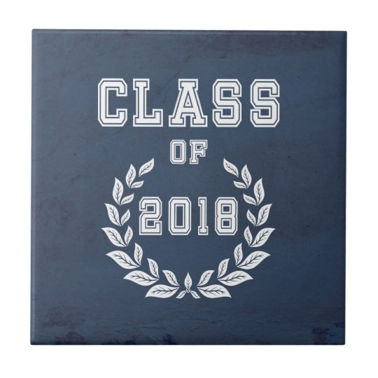 Class of 2018 tile