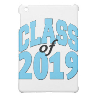 Class of 2019 blue cover for the iPad mini