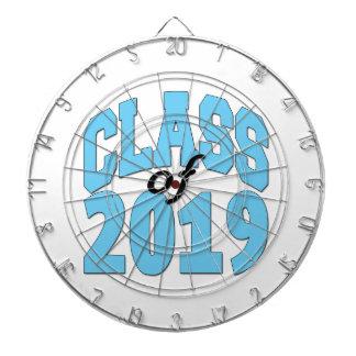 Class of 2019 blue dartboard