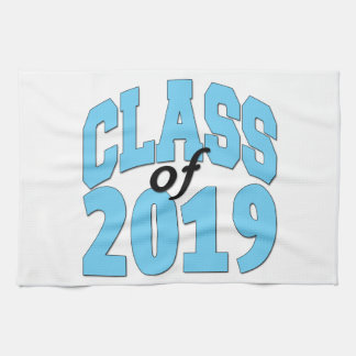 Class of 2019 blue kitchen towel