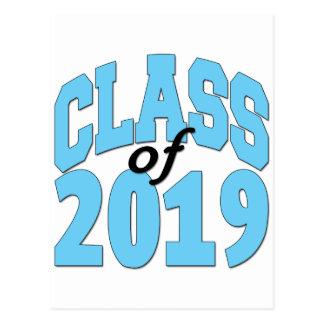 Class of 2019 blue postcard